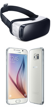 Gear VR + Samsung Galaxy S7